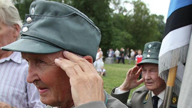 Сбор ветеранов 20-й гренадерской дивизии СС в Эстонии