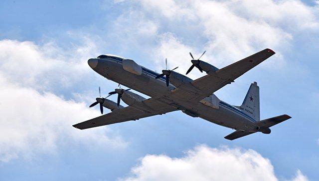 Самолет-постановщик помех Ил-22ПП. Архивное фото