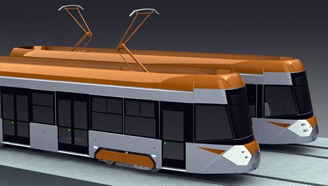 Трамвай 71-415. Архивное фото