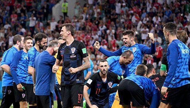 Футболисты сборной Хорватии. Архивное фото