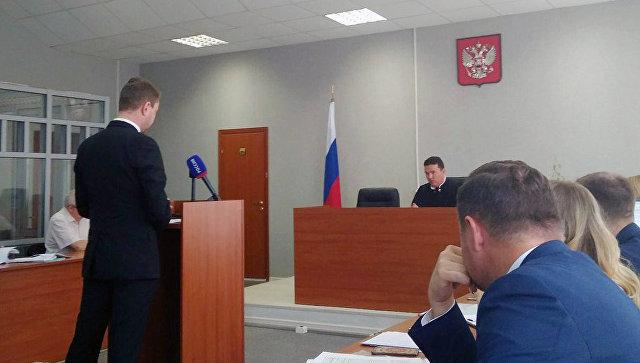 DJ Smash (Андрей Ширман) в Ленинском районном суде Перми. Архивное фото