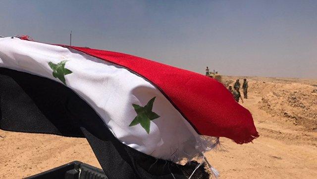 Сирийские войска в провинции Дераа