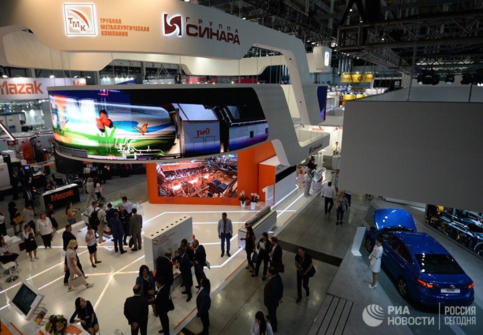 Международная промышленная выставка Иннопром - 2018 в международном выставочном центре Екатеринбург-ЭКСПО