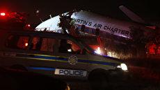 Крушение самолета в Претории, ЮАР. 10 июля 2018