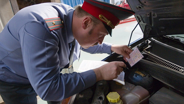 Работа пункта технического осмотра автомобилей в Москве