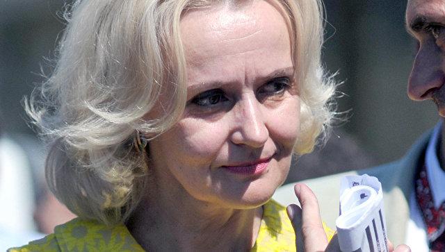 Ирина Фарион. Архивное фото