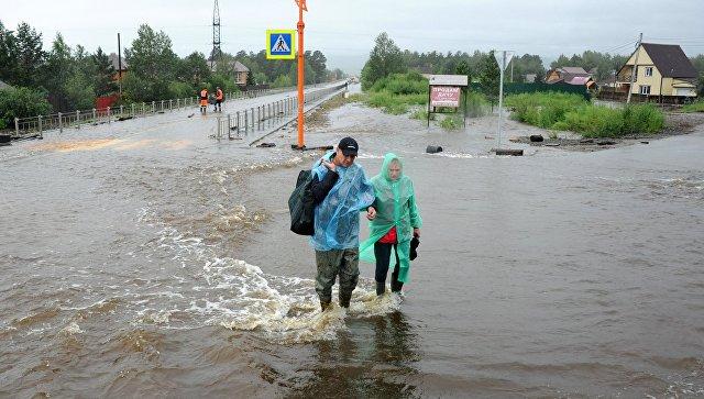 Паводок в Забайкалье. Архивное фото