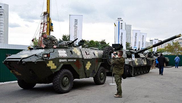 Военная выставка в Киеве