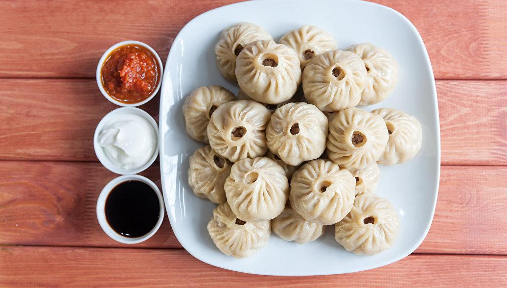 Позы - традиционное бурятское и монгольское блюдо