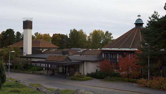 Постройки отеля Hilton Helsinki Kalastajatorppa. Архивное фото