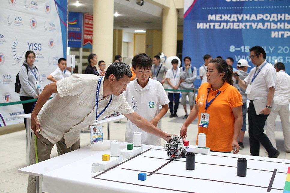 «Игры роботов» на МИИ