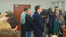 Оглашение приговора экс-депутату пермского заксобрания и его другу по делу об избиение DJ Smash. архивное фото