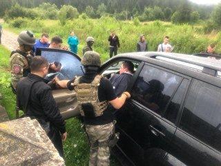 Задержание мэра города Сколе Львовской области Владимира Москаля