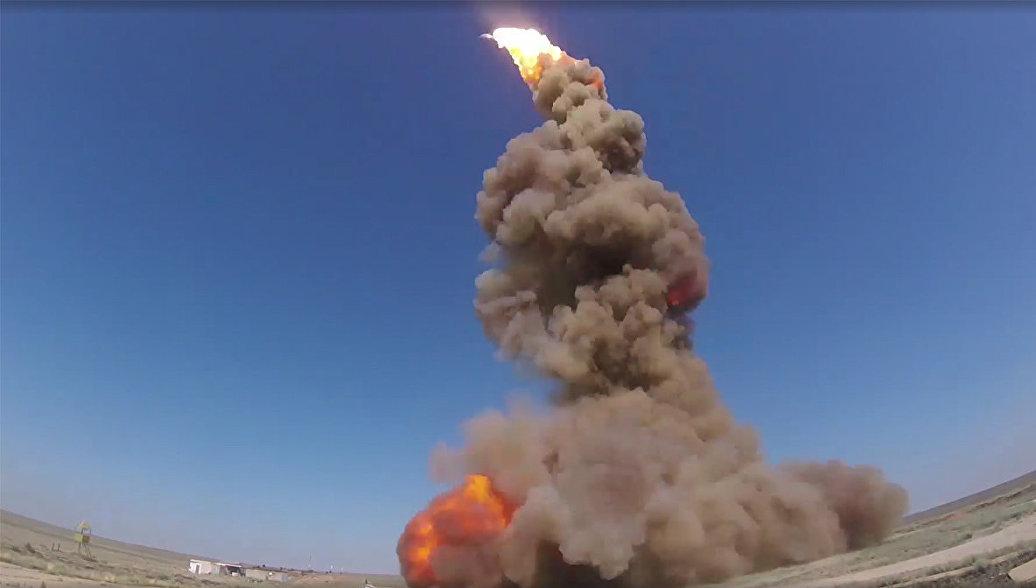 В Казахстане испытали новейшую российскую противоракету