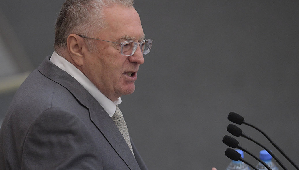 Лидер ЛДПР Владимир Жириновский. Архивное фото