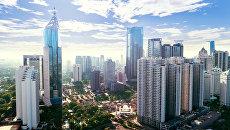 Деловой район в Джакарте, Индонезия. Архивное фото