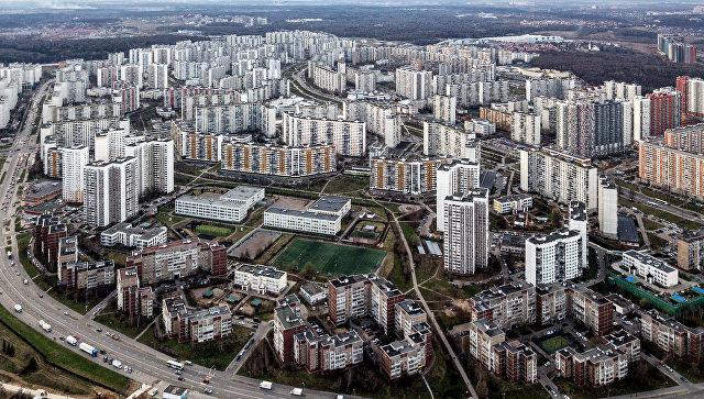 Улица Барышиха в Митино в Москве