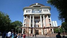 Здание Останкинского районного суда Москвы. 2 августа 2018