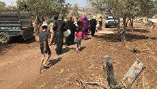 Мирные жители возвращаются в свои дома в провинции Дераа