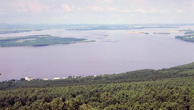Вид на реку Амур. Архивное фото