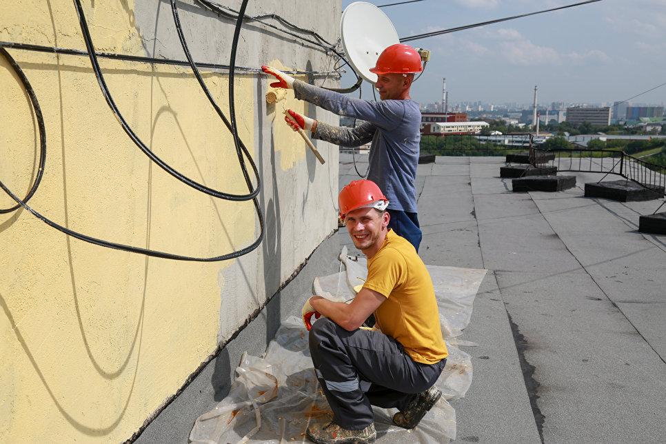 Ремонт крыши дома 15 по Нагорной улице