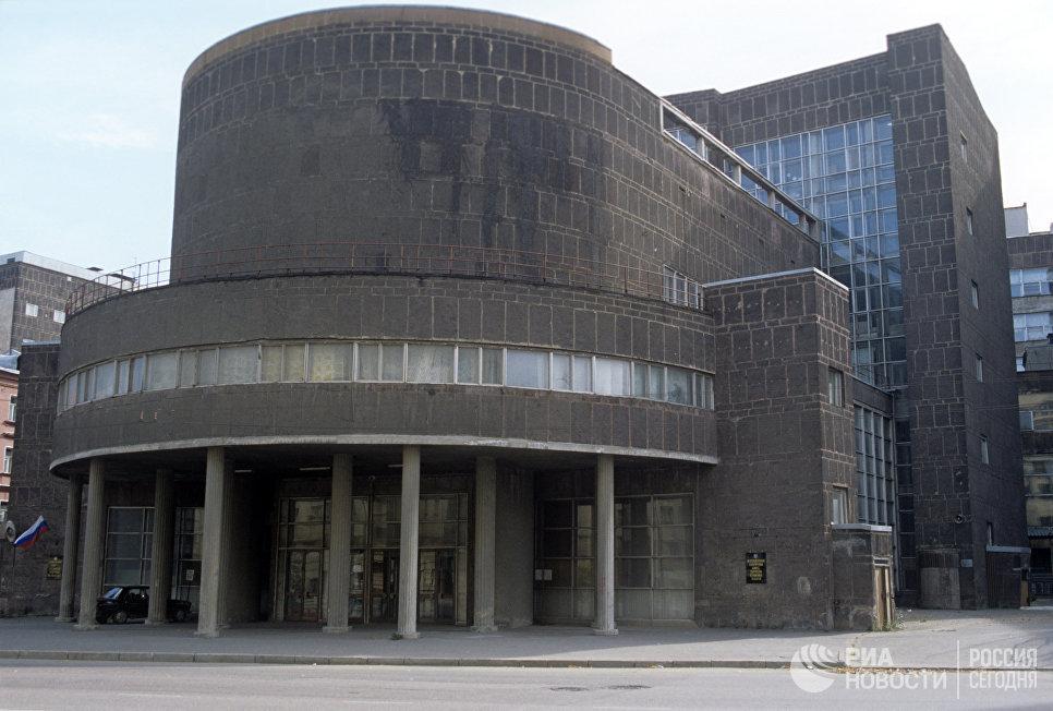 Здание Центросоюза на Мясницкой улице, построенное по проекту архитектора Шарля Эдуарда Ле Корбюзье