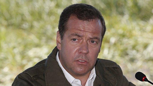 Рабочая поездка премьер-министра РФ Д. Медведева в Камчатский край