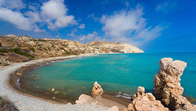 Бухта Афродиты в Пафосе, Кипр. Архивное фото