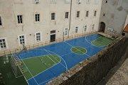 Баскетбольная площадка в Дубровнике