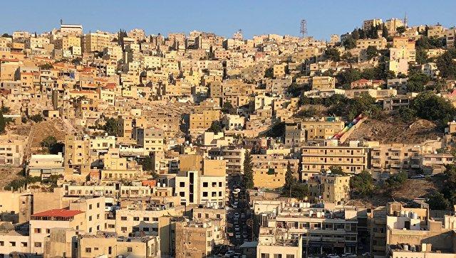 Столица Иордании город Амман. Архивное фото