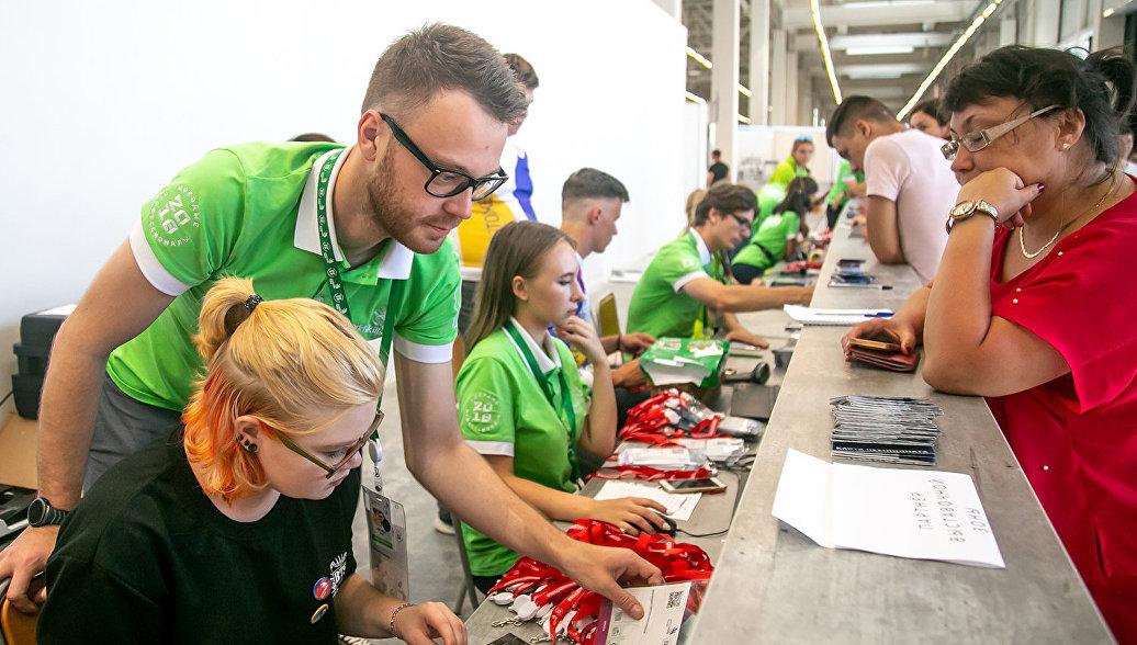 Волонтеры помогли в организации Чемпионата WorldSkills в Южно-Сахалинске