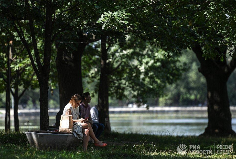 Благоустройство в парке Усадьба Михалково