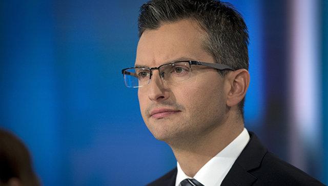 Бывший актер Марьян Шарец стал главой правительства Словении. Архивное фото
