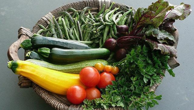Овощи. Архивное фото