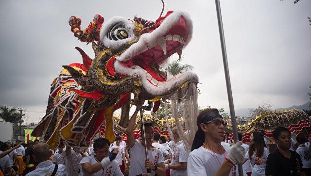 Фестиваль Тинь Хау в Гонконге