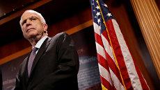 Американский сенатор Джон Маккейн. Архивное фото