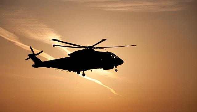 В Эфиопии разбился военный вертолет