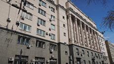 Здание Государственного дома радиовещания и звукозаписи в Москве. Архивное фото