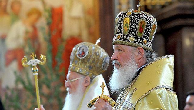 Патриарх Кирилл и патриарх Варфоломей. Архивное фото