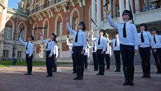 Кремлевские кадеты из Екатеринбурга готовят шоу для Спасской башни-2019