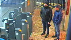 Подозреваемые в попытке убийства Сергея Скрипаля и его дочери Юлии в Солсбери Александр Петров и Руслан Боширов