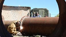 Авария на водозаборе в Саратове