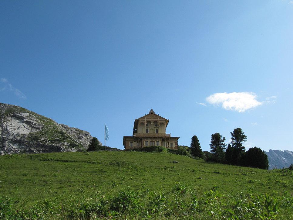 Усадьба на горе Шахен в Баварии