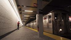 Станция метро WTC Cortlandt в Нью-Йорке. 8 снтября 2018