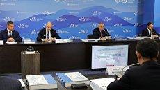 Владимир Путин проводит во Владивостоке заседание президиума Государственного совета по вопросам развития Дальнего Востока. 10 сентября 2018