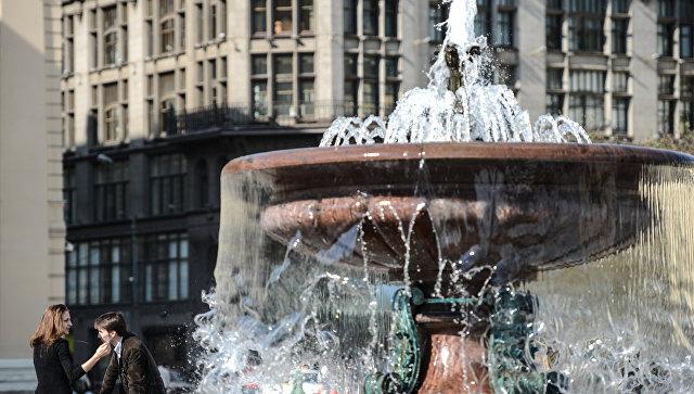 В Москве завершается сезон работы фонтанов