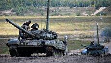 Учения танковых войск Восточного военного округа