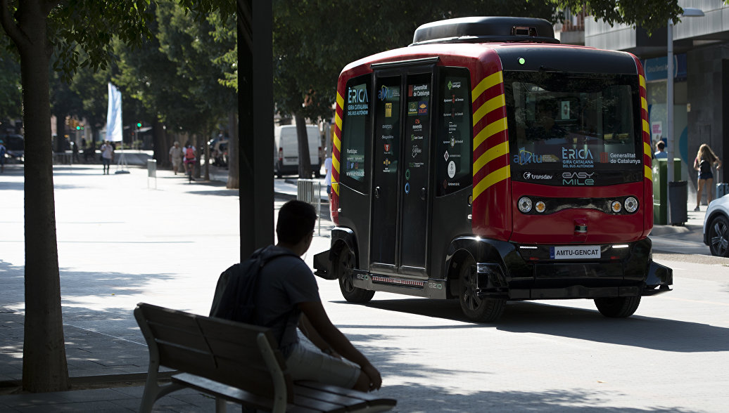 В Каталонии запустили автобус без водителя