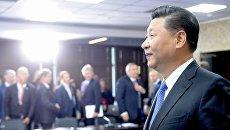 Председатель КНР Си Цзиньпин на IV Восточном экономическом форуме