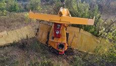 Самолет, разбившегося 12 сентября 2018 года в Ульяновской области при выполнении сельскохозяйственных работ